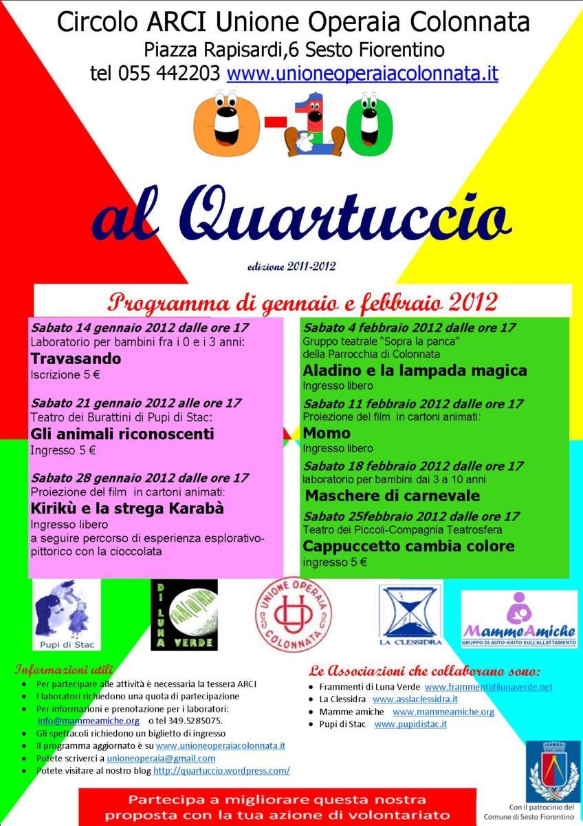 Inizia alla grande il 2012 per i bambini!