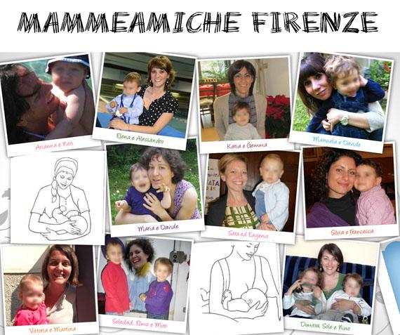 Ecco a voi le MammeAmiche di Firenze