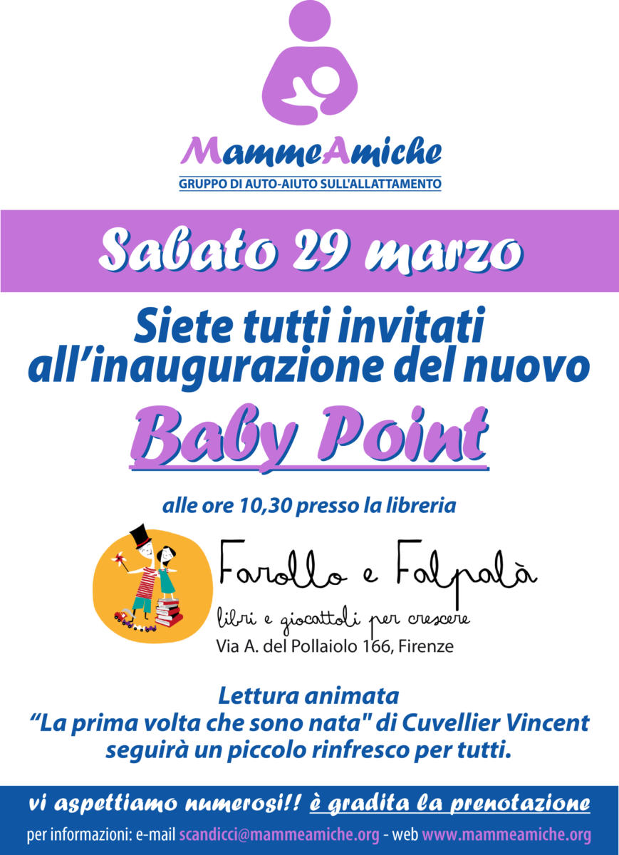 Un altro Baby Point a Firenze!