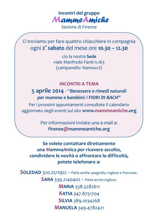 incontri MammeAmiche Firenze
