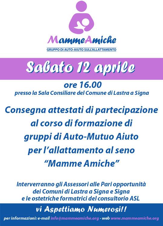 In arrivo nuove MammeAmiche a Lastra a Signa!