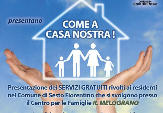 """MammeAmiche e Mosaico Famiglia """"COME A CASA NOSTRA!"""""""