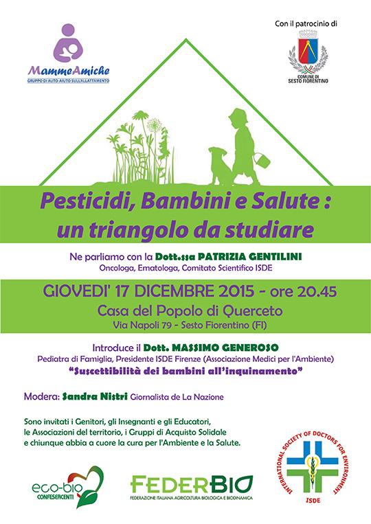 Pesticidi, salute e bambini_un triangolo da studiare
