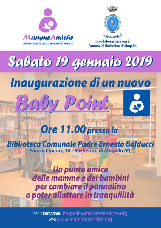 Inaugurazione di un altro Baby Point a Barberino di Mugello