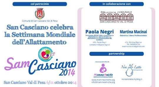 SAM Casciano 2014 – San Casciano celebra la Settimana Mondiale dell'Allattamento