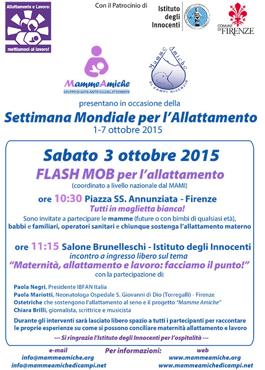 FLASH MOB ALLATTAMENTO 2015